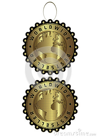 Bestseller luxury golden vector label & tag