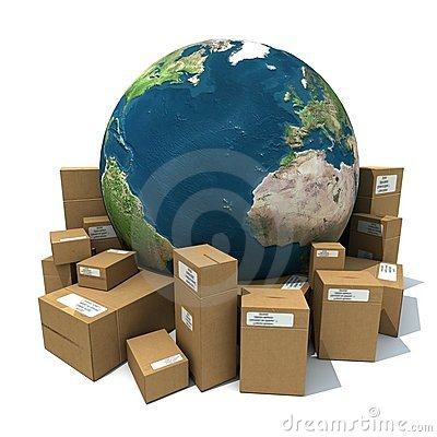 Free Worldwide Delivery Stock Photos - 7488133