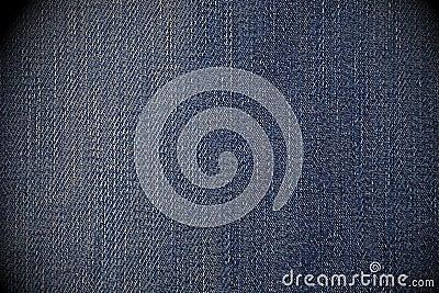 Worn blue jean background