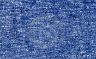 Worn denim fabric