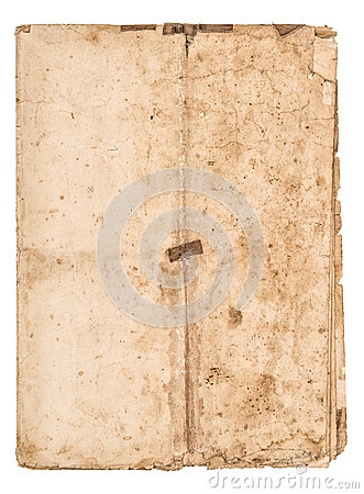 Free Worn Falded Paper Sheet Used Stained Paper Texture Royalty Free Stock Image - 79673636