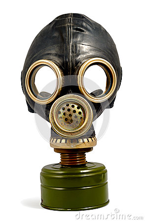 Free Worn Gas Mask Stock Photography - 51267102