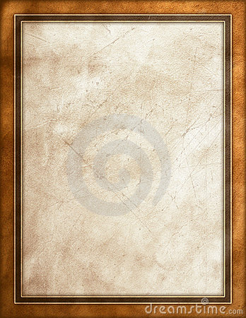 Worn leather background