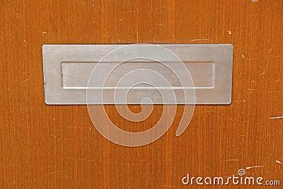 Worn letter box