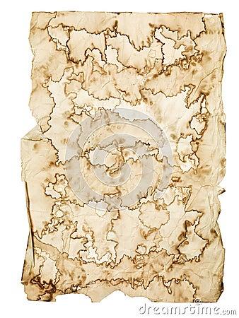 Worn Manuscript