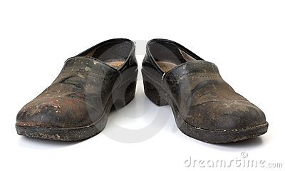 Worn out clogs