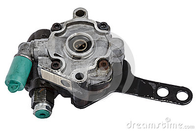 Worn out power steering pump