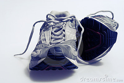 Worn Sneakers Trainers