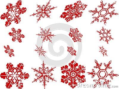 Worn Snowflakes