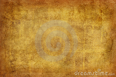 Worn, textured background in yellow and brown