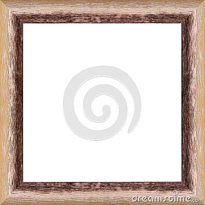 Worn wooden frame