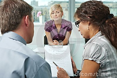 Worrying during job interview
