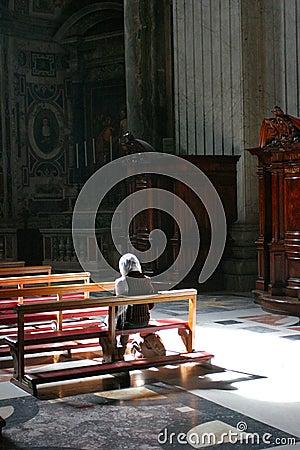 Worship Editorial Stock Photo
