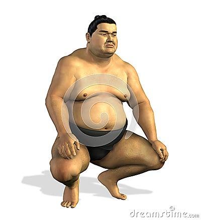 Worstelaar 2 van Sumo