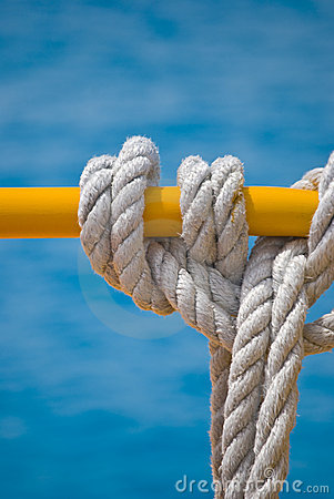 Free Wound Rope Royalty Free Stock Photography - 5590077