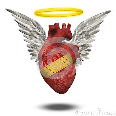 Wounded good heart