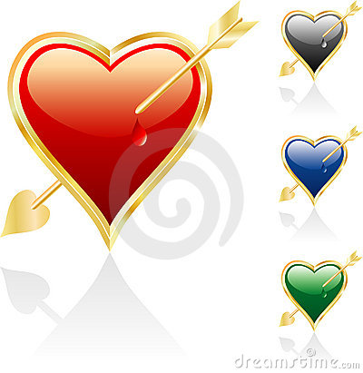 Free Wounded Heart Royalty Free Stock Photography - 6924317