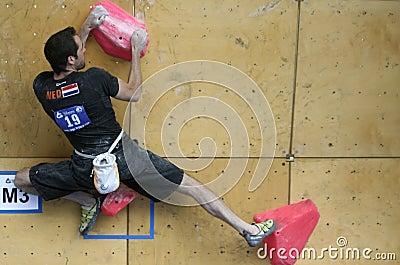 Wouter Jongeneelen - Netherlands Climber Editorial Photo