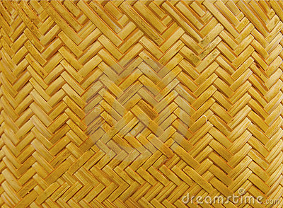 Woven background of natural material