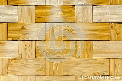 Woven bamboo panel