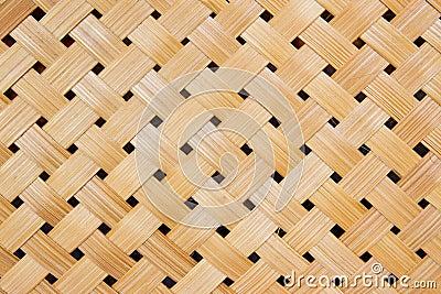 Woven bamboo pattern