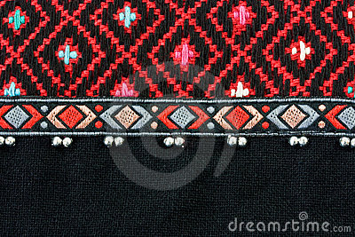 Woven fabric background