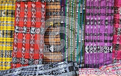 Woven Guatemalan Fabric