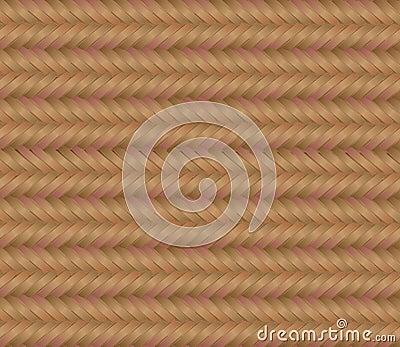 Woven mat pattern