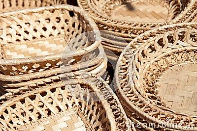 Woven plates