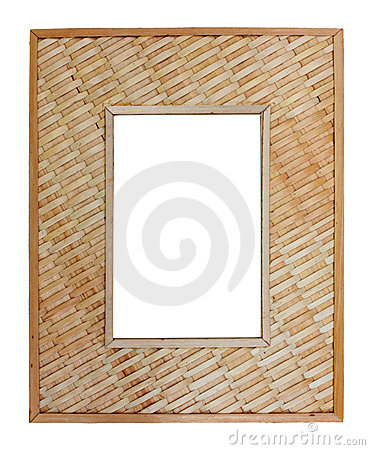 Woven reed frame