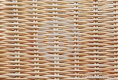 Woven straw
