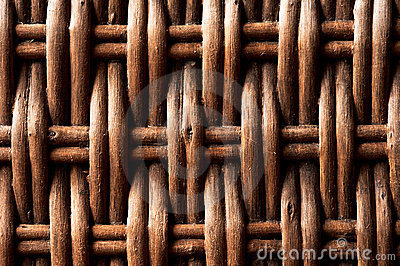 Woven Wicker Background