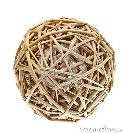 Free Woven Wicker Balls Stock Photos - 18452383