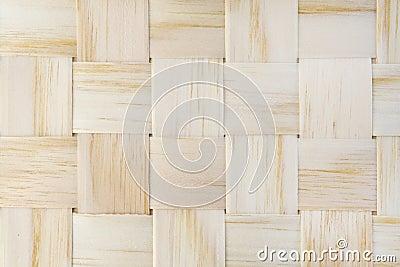 Woven Wood Strips