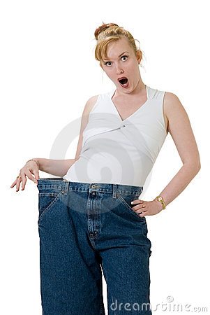 Free Wow I Lost Twenty Pounds Royalty Free Stock Image - 726756