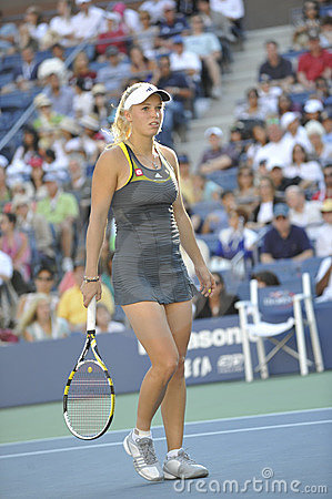 Wozniacki # 1 US Open 2010 (20) Editorial Photo