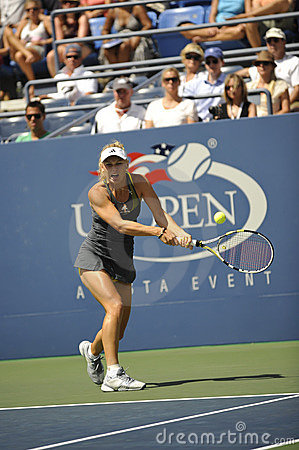 Wozniacki # 1 US Open 2010 (47) Editorial Photography