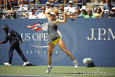 Wozniacki # 1 US Open 2010 (63) Editorial Image