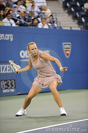 Wozniacki Caroline finalist US Open 2009 (13) Editorial Photo