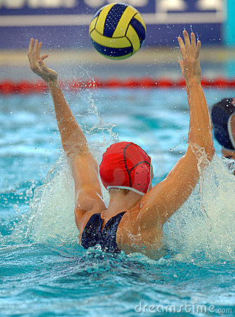Free Wpolo Goal 01 Royalty Free Stock Photography - 3011507