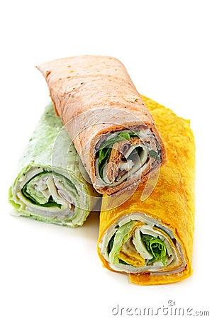 Free Wrap Sandwiches Stock Photos - 10566493