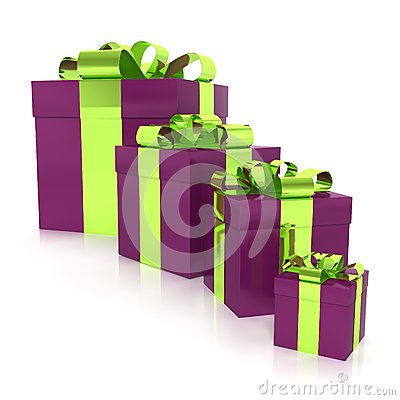 Free Wrapped Gift Boxes Royalty Free Stock Image - 31269466