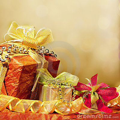 Wrapped present or gifts