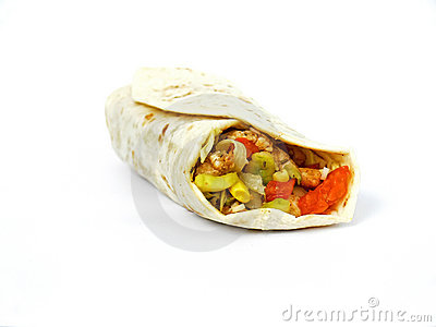 Wrapped tortilla
