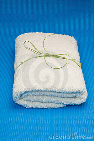 Wrapped towel