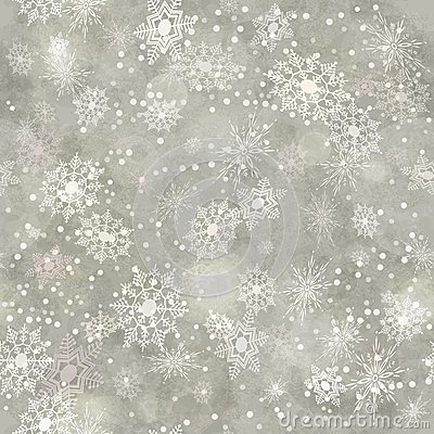Free Wrapping Vintage Paper Snowflake Seamless Pattern Royalty Free Stock Images - 35567419