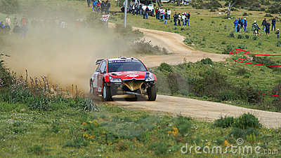 WRC 2008-Rally Italia-Sardegna Editorial Photography