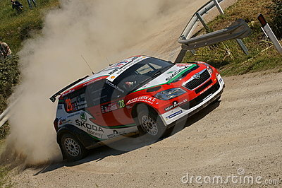 WRC 2011 Rally D Italia Sardegna - BRYNILDSEN Editorial Photo