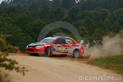WRC 2011 Rally D Italia Sardegna - MARRONE Editorial Image