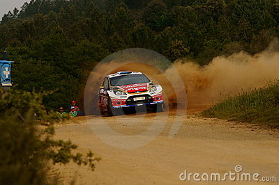 WRC 2011 Rally D Italia Sardegna - PROKOP Editorial Stock Photo